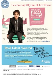 Pizza Express Jamie Cullum